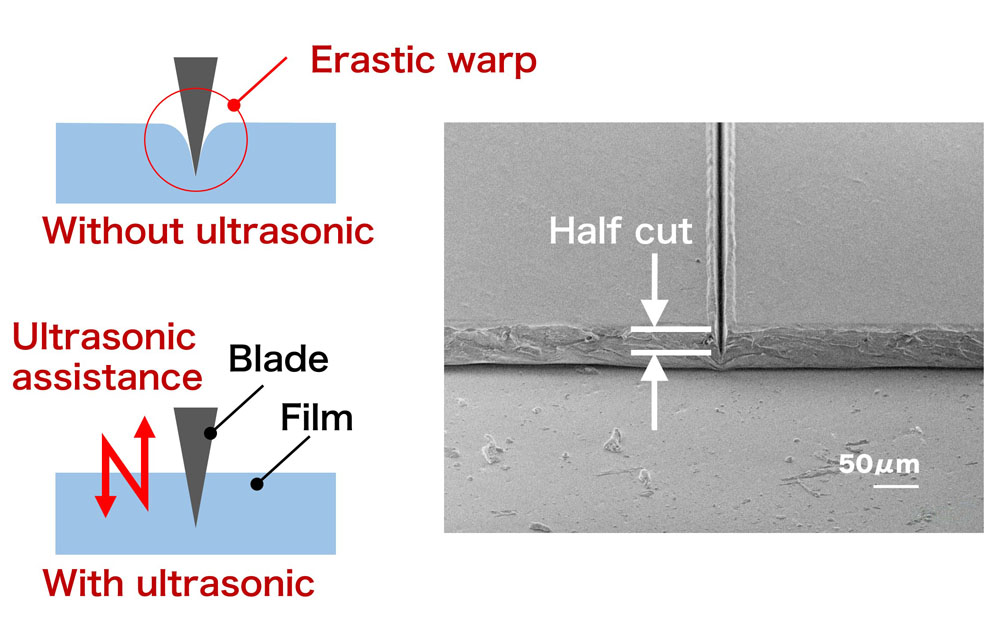 Resin Film (High Quality Half Cutting)