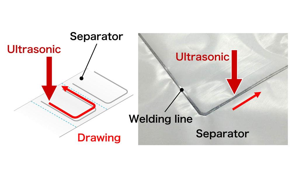 Li Ion Battery (Seperator Welding)