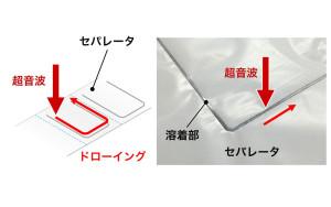 3-001 Liイオンバッテリー(セパレータ溶着)