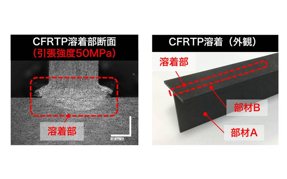 CFRTP部品連続溶着